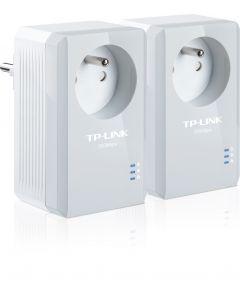 TP-Link TL-PA4015P KIT - AV600 Passthrough Powerline - Starter Kit