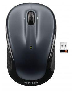 Logitech wireless M325 dark silver