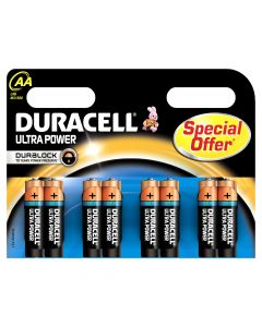 Ultrapower AA battery 8 pack Special offer . .