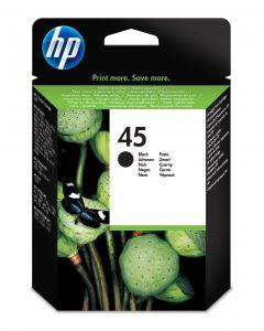 HP 45 grote originele zwarte inktcartridge