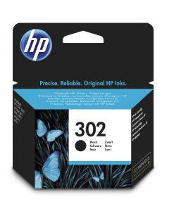 HP 302 Inktcartridge Zwart