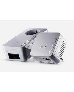 Devolo dLAN 550 WiFi Starter Kit 500Mbit/s Ethernet LAN Wi-Fi Wit 2stuk(s) PowerLine-netwerkadapter