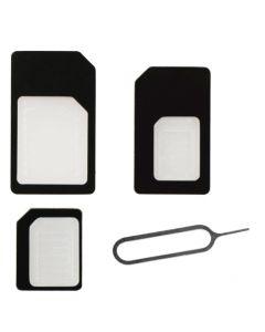 BeHello SIM-Kaart Adapters (SIM/Micro SIM/Nano SIM)