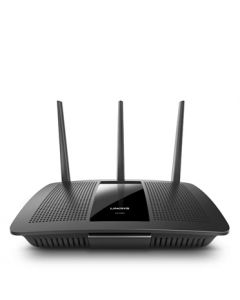 Linksys AC1900 Dual-band (2.4 GHz / 5 GHz) Gigabit Ethernet Zwart