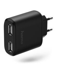 Hama 00173615 Binnen Zwart oplader voor mobiele apparatuur