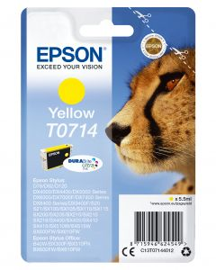 Epson T0714 Inktcartridge Geel