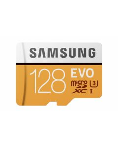 Micro SD 128GB EVO w SD Adapter Class10