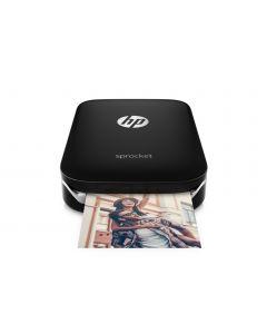 HP Sprocket Fotoprinter - Zwart
