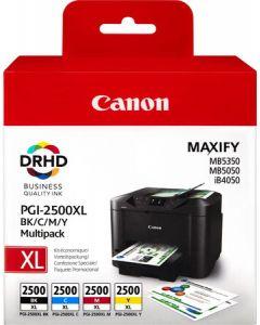 Canon PGI-2500XL C/M/Y/BK