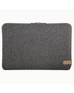 """Hama 15"""" Notebook-sleeve Jersey - Donkergrijs"""