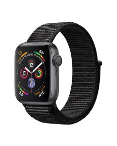 Apple Watch S4 40 Sg Al Blk Sl Gps-