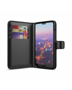 Huawei P20 Wallet Case Black