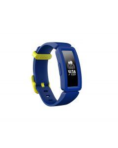 Fitbit Ace 2 Donkerblauw/geel neon
