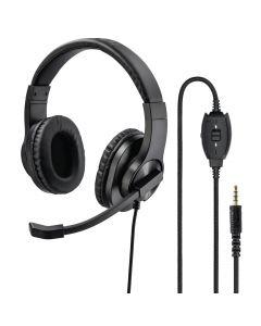 """PC-Office-headset """"HS-P350"""", stereo, zwart"""