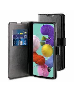 Samsung Glxy A51 Gel Wallet Case Black