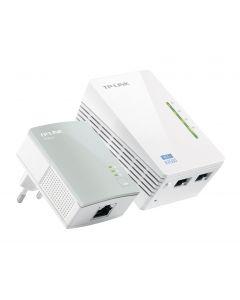 TP-Link TL-WPA4220KIT - AV600 Wi-Fi Powerline - Starter Kit