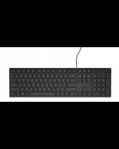 Dell KB216 - Multimedia Keyboard - USB - Belgium AZERTY - black