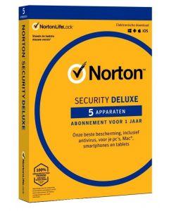 Norton Security Deluxe - 1 Gebruiker / 5 Toestellen