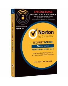 Norton Security Deluxe + Wifi privacy