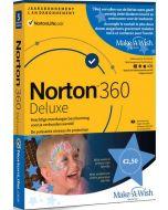 Norton 360 Deluxe - 1 Gebruiker / 5 Toestellen - Make-a-Wish